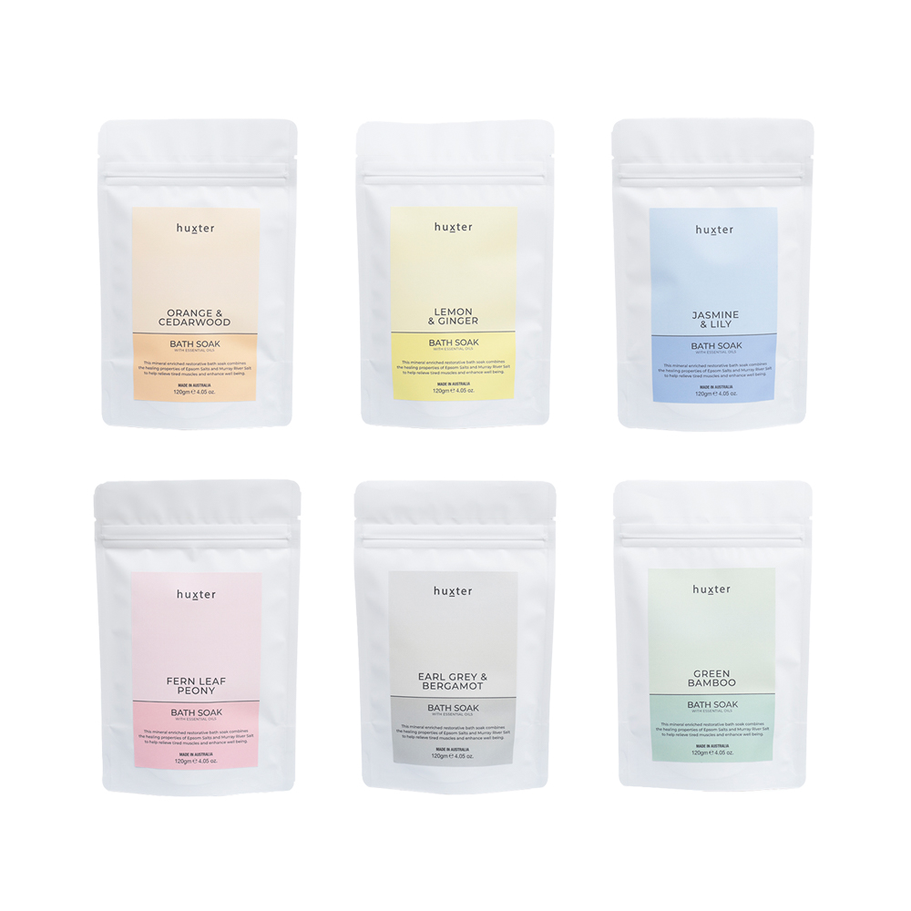 Huxter Pastel Bath Soak 120gm